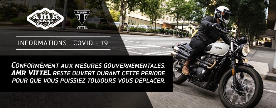 Infos Covid-19 : AMR Vittel reste ouvert pendant le confinement