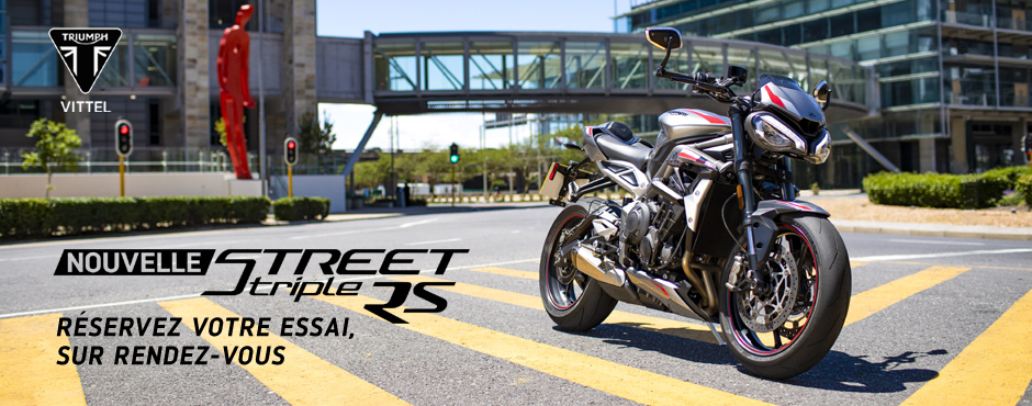 AMR VITTEL - Triumph Street Triple RS 2020